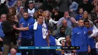 Dennis Smith Jr vs. Golden State Warriors Massive Slam Dunk 1/3/18