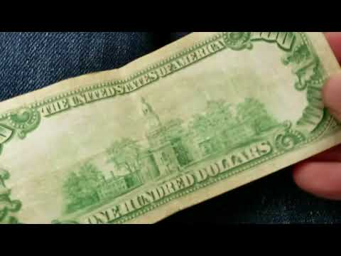 Chicago Gangster Money: Series 1934 $100 Dollar Bill
