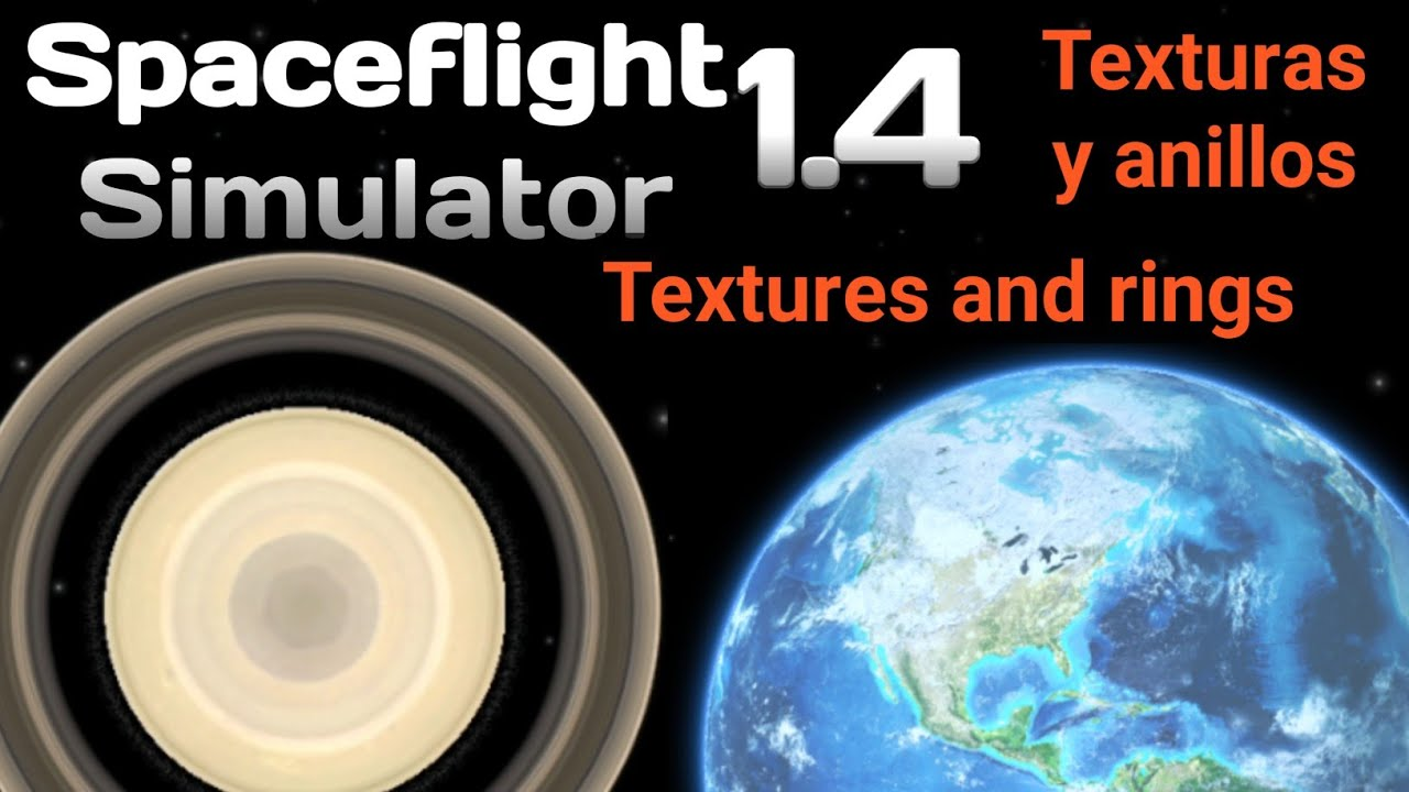 Spaceflight Simulator | Planet editor | Textures and rings