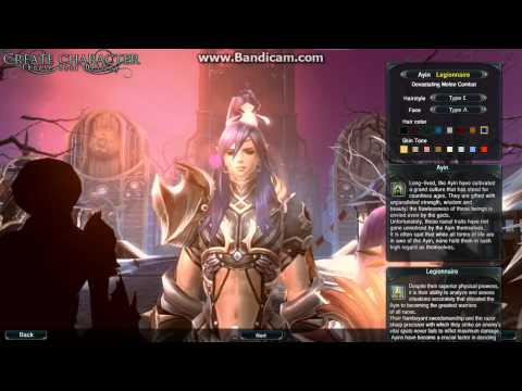 Prius Online Character Creation CBT [HD] [HQ]