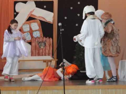 Фильм- слайдшоу по спектаклю Подарок для Снегурочки 2012 2013