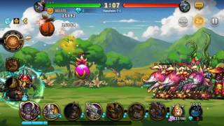 seven guardians chapter 7 1 gameplay and a 5 6 start hero stone