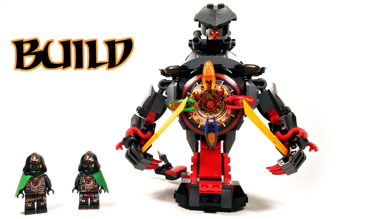Lego Mini Iron Doom Build Tutorial Ninjago Hands Of Time