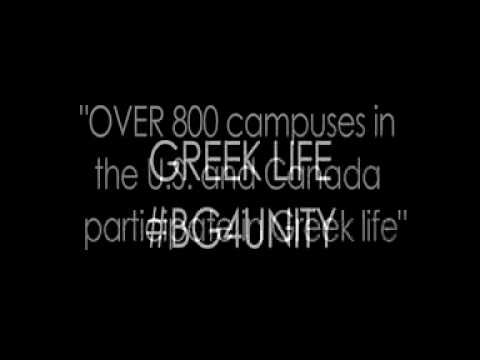 #BG4Unity: Challenging Stereotypes Related to Greek Life
