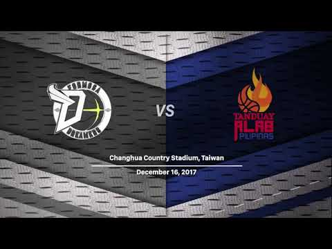 Formosa Dreamers vs. Tanduay Alab Pilipinas | LIVESTREAM | 2017-2018 ASEAN Basketball League