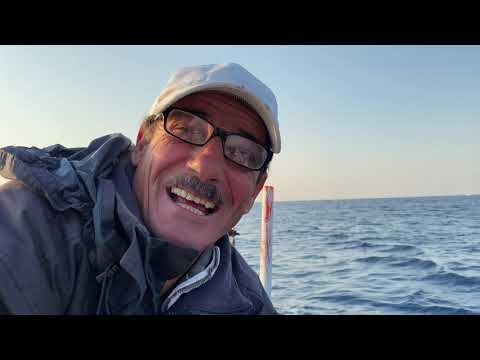 The Story Of Mounir The LEBANESE FISHERMAN: Out At Sea, A Daily Routine, Hard Times... A Happy Smile