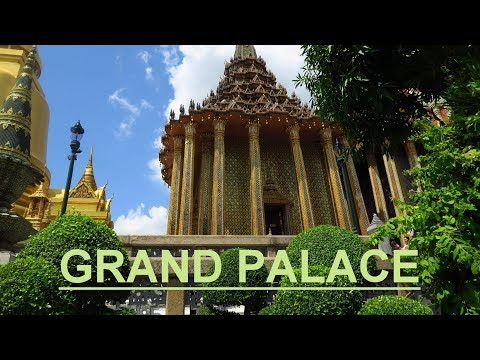 GRAND PALACE - The Main Attraction in Bangkok / Thailand