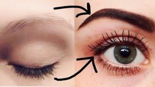 How to GROW THICK Eyelashes & Eyebrows DIY Hair Growth Serum | JSuper Kaur
