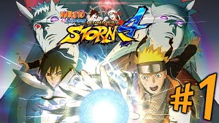Naruto Ultimate Ninja Storm 4 - Parte 1: Grande Guerra Ninja! [ PC - Playthrough PT-BR ]