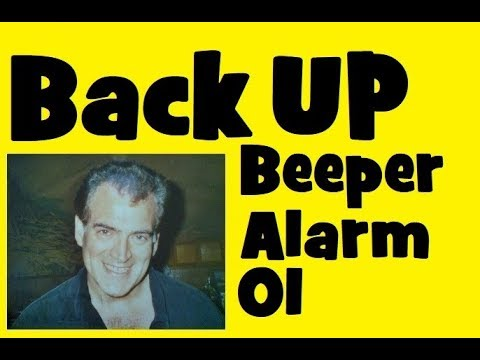 WOLO BA-500 Back Up Alarm Beeper Installation with Off/On Switch Part 1