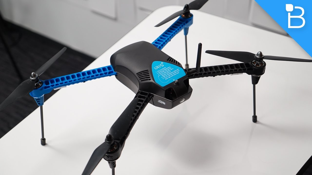 3drobotics Iris Review A Drone That Can Fly Itself Youtube