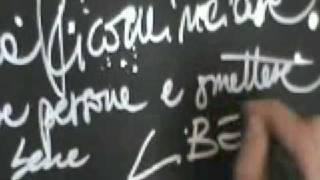 """Giorgia """"Libera la mente"""" feat. Beppe Grillo - video"""