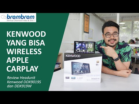 Kenwood akhirnya bisa Wireless Apple CarPlay! Review Kenwood DDX9019S dan DDX919WS | Brembrem