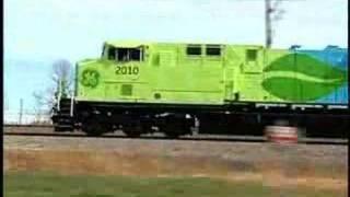 Hybrid Railway Freight Engine GE 2010 : innovation track