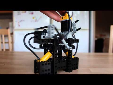 Lego pneumatic motor prototype