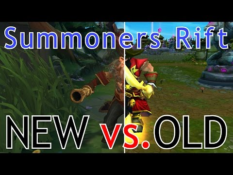 OLD vs. NEW Summoners Rift! | Cinematic Comparison