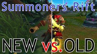 OLD vs. NEW Summoners Rift!   Cinematic Comparison