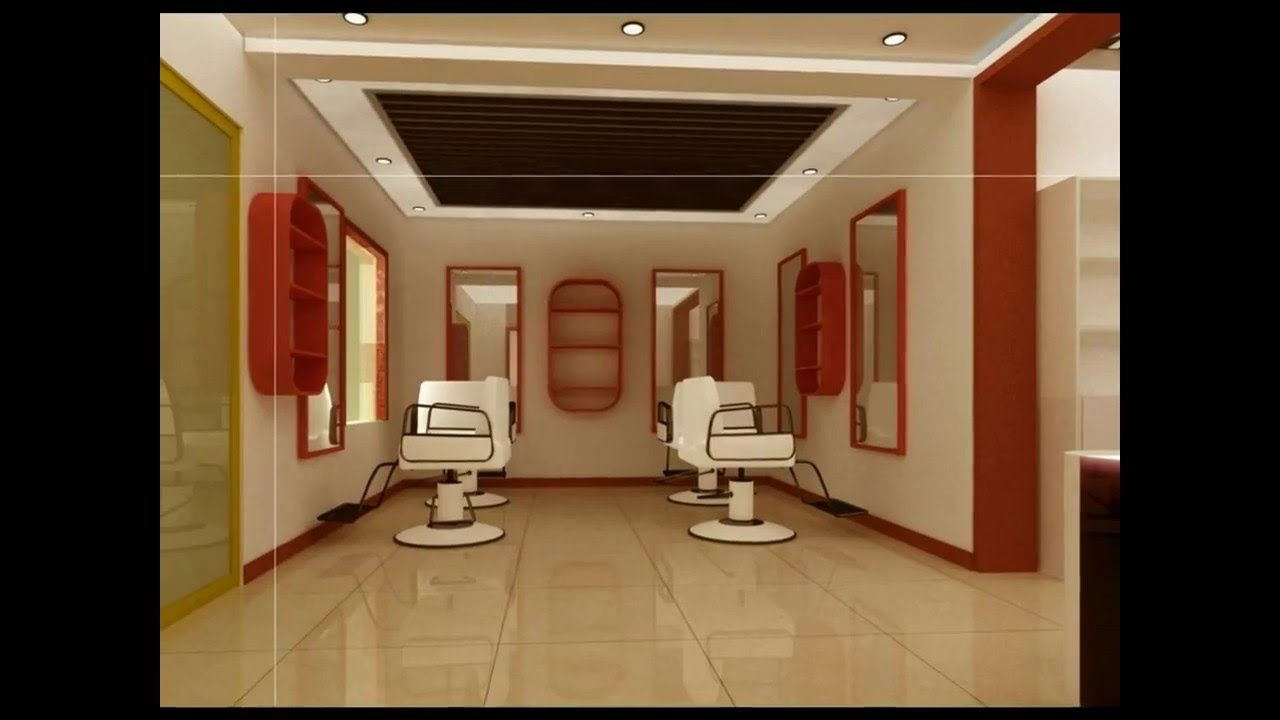 Beautiful & Wonderful Hair Salon Interior Design & Decoration!!