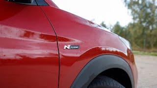 Hyundai Tucson 1.6 T-GDI 177 7DCT N Line test PL Pertyn Ględzi