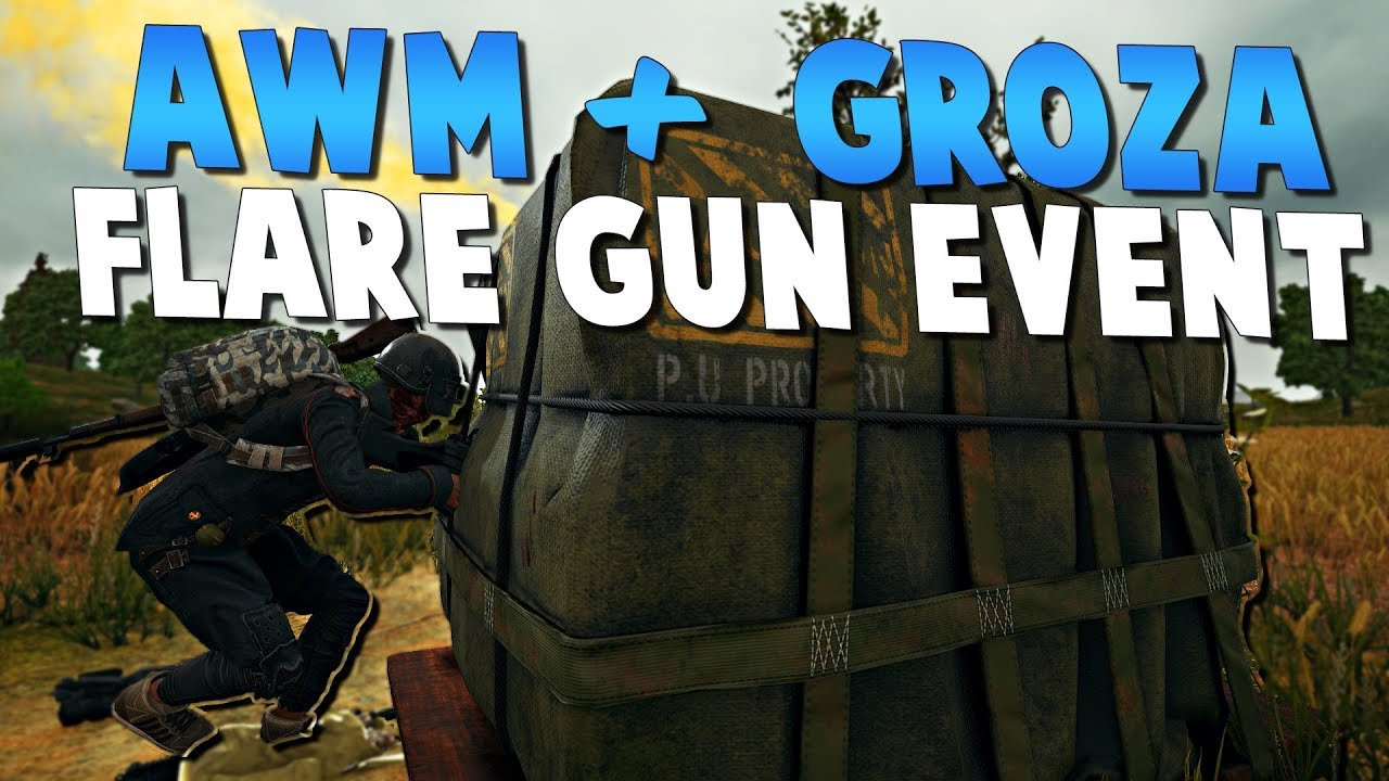 Awm Groza Flare Gun Event Metal Rain Playerunknown S