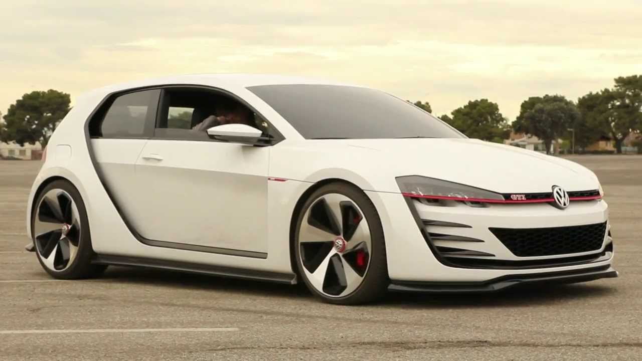 2013 la auto show volkswagen gti design vision concept car. Black Bedroom Furniture Sets. Home Design Ideas