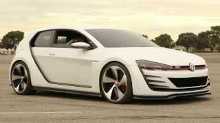 2013 LA AUTO SHOW VOLKSWAGEN GTI DESIGN VISION CONCEPT CAR Review VW Driving Experience