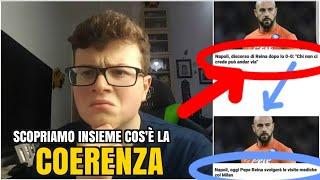 REINA FA LE VISITE AL MILAN: LA COERENZA IN UN UOMO! 😂