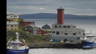 Honningsvag, Norway Nordkapp North Cape Photo Montage From 2014