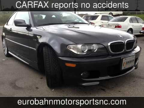 2005 bmw 330ci used cars for sale greensboro nc 27409 youtube. Black Bedroom Furniture Sets. Home Design Ideas