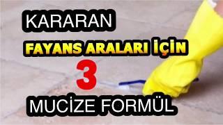 KARARAN  DERZLER  İÇİN 3 MUCİZE FORMÜL