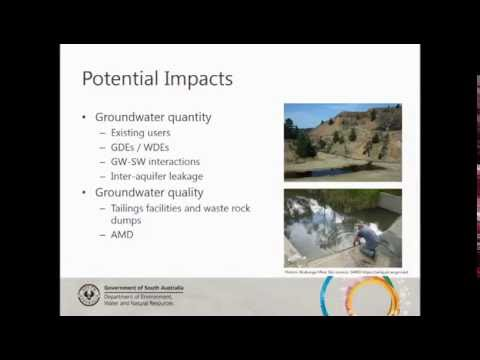 Groundwater management and mining development in South Australia