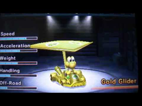 How To Get The Gold Car In Mario Kart