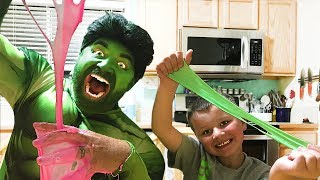 Hulk Gets Slime!  Nickelodeon Slime Review | Cra-Z-Art | Toy Review IRL