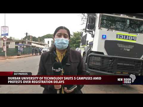 Durban University of Technology has closed its five campuses in the city