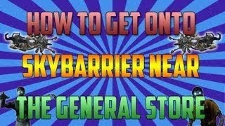 Black Ops 2 Zombie Glitche-Buried Sky Barrier Near The General Store!
