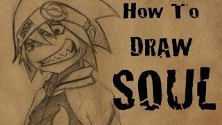 How To Draw Soul Evans from Soul Eater
