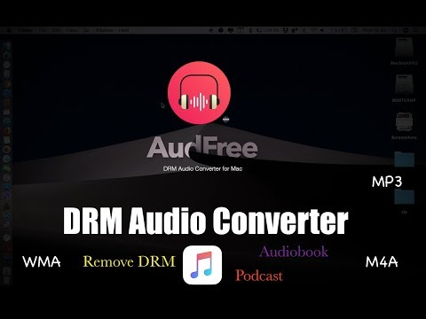 Easily Remove DRM from Apple Music with AudFree  Audio Converter for Mac
