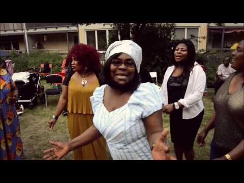 Ghanaians in Sweden BBQ party
