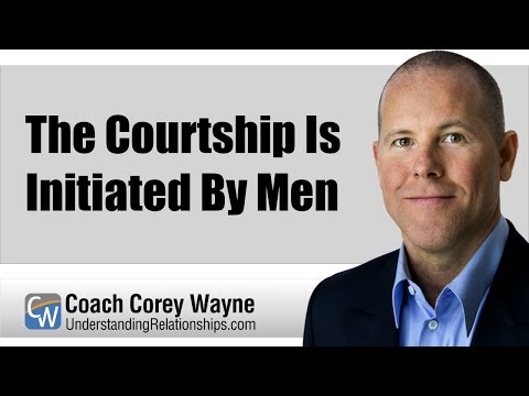 The Courtship Is Initiated By Men