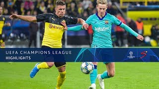 UEFA Champions League | Dortmund v Barcelona | Highlights
