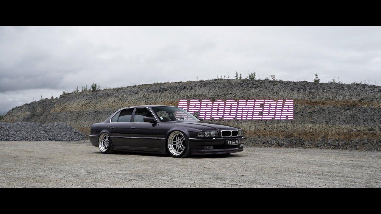 Bagged BMW 740i E38   4K