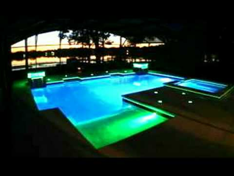 Swimming pool and spa led lights - Pool, spa underwater lighting with color  changing LEDs
