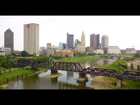 Downtown Columbus Ohio in 4k - DJI Mavic Pro