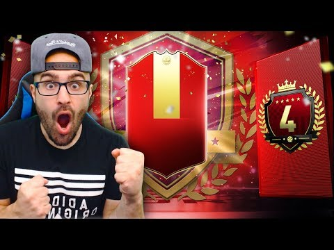 OMG 4TH IN THE WORLD REWARDS! 30-0 TOP 100 PACKS! FIFA 19 Ultimate Team