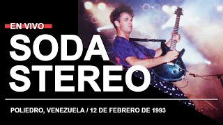SODA STEREO en el Poliedro, Venezuela (12.02.1993) // Recital completo [CONSOLA]