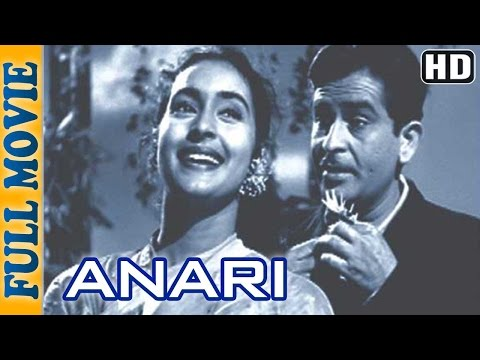 Anari 1959 (HD) - Full Movie - Raj Kumar - Nutan - Lalita Pawar - Superhit Comedy Movie