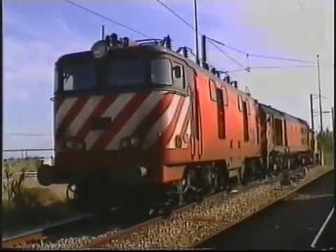 Comboios na Bobadela - Linha do Norte - 2004