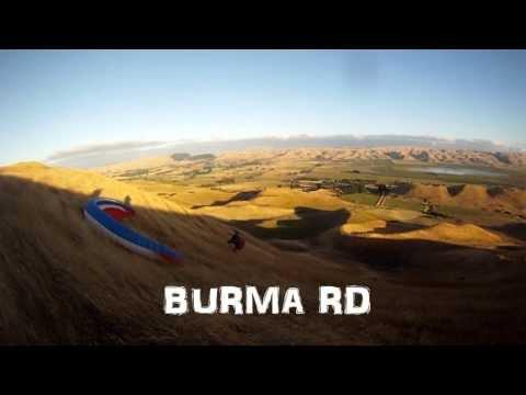 Paragliding Burma Rd Hawkes Bay New Zealand