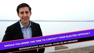 ACTION: Ever wonder if it is worth it to contact your elected official?