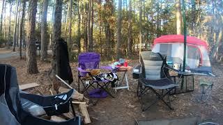 Camping at petit jean